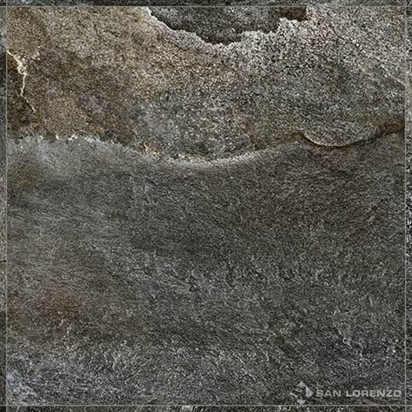 Imagen de Caja 4 pzas.Porcellanato SAN LORENZO Rocca Ardesia Gris 58x58