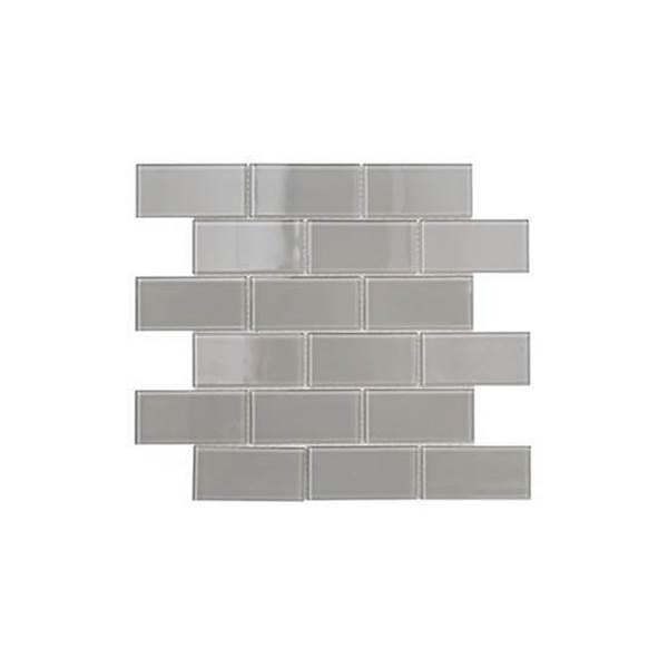 Imagen de Malla MISIONES Subway Mini Gray 30x30 cm V0054